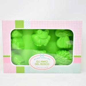 Stampo Amici Del Bosco Verde