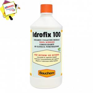 Bauchem Idrofix 100 isolante fissativo murale acrilico 1lt interni esterni