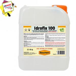 Bauchem Idrofix 100 isolante fissativo murale acrilico interni esterni 5lt