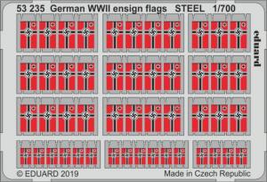 German WWII ensign flags STEEL