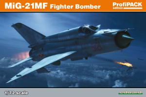 MiG-21MF fighter-bomber OVERTREES