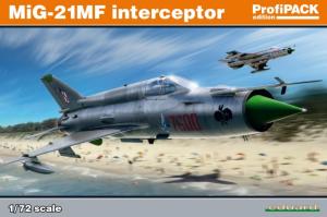 MiG-21MF interceptor OVERTREES