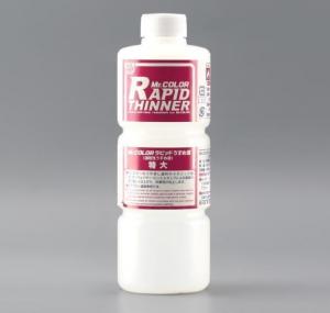 MR.RAPID THINNER - Diluente  per  rapide  asciugature , adatto alla  diluizione  dei colori metallici - Gunze MC - Gunze-C . Mantengono il pigmento allineato per una  perfetta  mimetizzazione