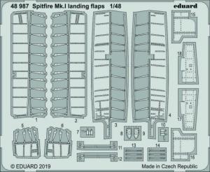 Spitfire Mk.I landing flaps
