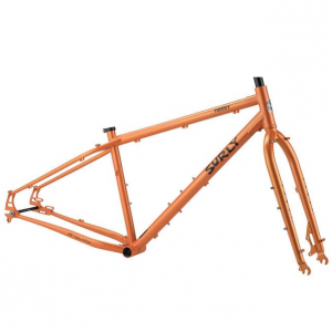 Surly Pugsley Frameset - Candy Yam Orange