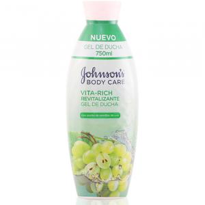 Johnsons Vita Rich Vitalizing Grapes Shower Gel 750ml