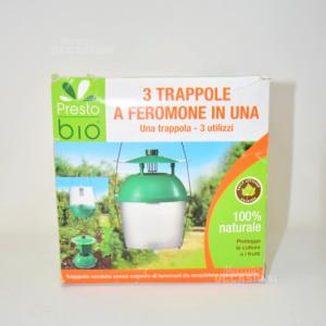 Trappola Feromone Presto Bio 3 In 1g Per Colture/Frutti