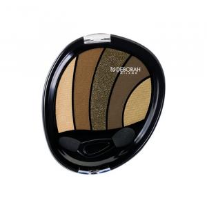 Deborah Milano Perfec Smokey Eye Eyeshadow Palette 05 Kaki 5g