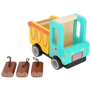 Camion ribaltabile in legno