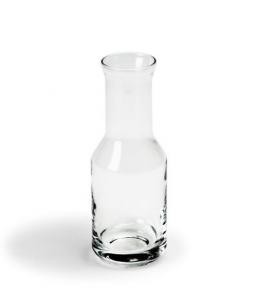 Oliera in vetro con salvagocce cm.16h diam.4