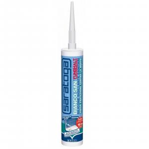 Saratoga silicone sigillante antimuffa sanitari biancoSan 310ml bianco