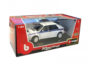 BBURAGO Racing Lancia Delta HF Integrale Evo 2 1/24 Rally car Racing Model 758