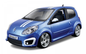 BBURAGO Renault Twingo Gordini RS 1/24 miniature model collectible car kit toy 130