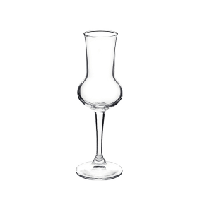 BORMIOLI ROCCO Pack 6 Glass Grappa Reserves Goblets Cl 8.5 Italian Style Italy