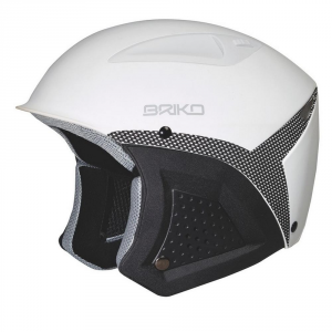 BRIKO Downhill Helmet Skiing Unisex In-Moulding Technology Freemont White