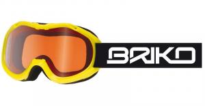 BRIKO Mask Junior Downhill Antifog Lenses Yellow Mini Beetle
