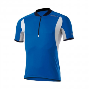 BRIKO Spinning Cycling Jersey Sleeves Courtier Prokare Blue