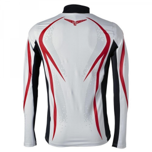 BRIKO Sweater Cross-Country Skiing Man Evo Red White Black