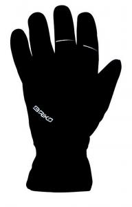 BRIKO Winter Cycling Gloves Bike Unisex Pro Black Winter