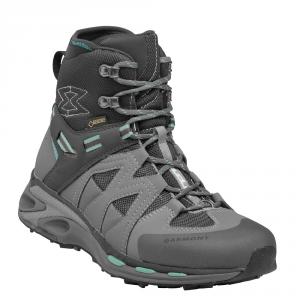 GARMONT USHUAYA GTX Goretex trekking shoes boots dark gray /turquoise woman