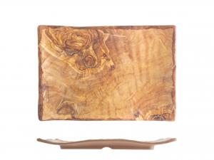 H&H Tray Melamine Rectangular Decor Wooden 18,5x27,5 cm  online Italian Design