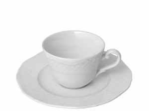 HOME  Pack 6 Coffee Cups With Porcelain Dishes Arianna Breakfast Italian Design