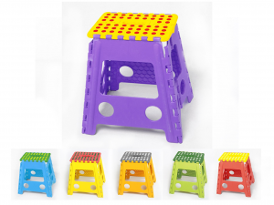 HOME Folding Stool Assorted Cm 29X22H39 Exclusive Brand Design Made in Italy