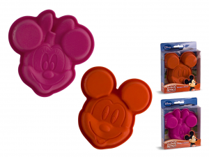 HOME Pack 6 Silicone Molds Disney Mickey / Minnie Cm12 Pastry Baking