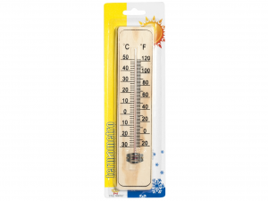 HOME Pack 6 Thermometers For Interior Wood 22 Exclusive Design Made in Italy