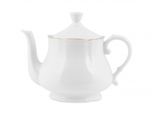 HOME Porcelain Teapot Dawn Gold Lt1.2 Breakfast Exclusive Design Made in Italy