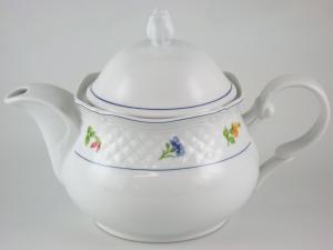 HOME Porcelain Teapot Handle Teresa Lt1.4 Breakfast Exclusive Italian Design
