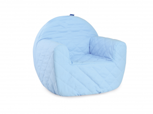 LULABI Padded Chair Baby Blue Bedroom Baby Exclusive Brand Design Made in Italy