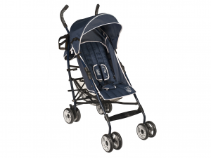 LULABI Stroller Greg Blue/Gray Bedroom Baby Exclusive Brand Design Made in Italy