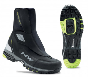 NORTHWAVE Man MTB all mountain shoes YETI black