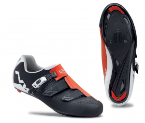 NORTHWAVE Man road cycling shoes PHANTOM SRS black/red/white