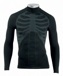 NORTHWAVE Men's long sleeve cycling jersey black BODY FIT EVO