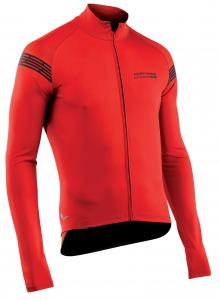 NORTHWAVE Men's long sleeve light jacket EXTREME H20 -red total protection