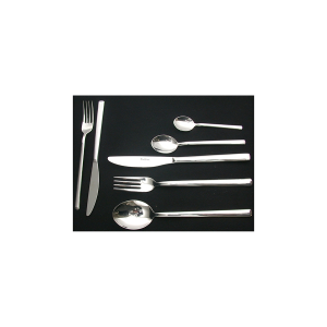 PINTI INOX Pack 12 fruit forks stainless Synthesis  kitchen cutlery Italy