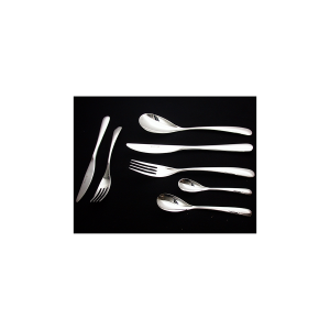 PINTI INOX Pack 12 stainless steel coffee spoons swing utensils kitchen cutlery