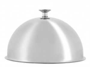 PINTI INOX Stainless Steel Cloche 26mm Semispheric Exclusive Italian Design