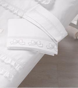 Lenzuolino letto coll. Elegant Azzurra design