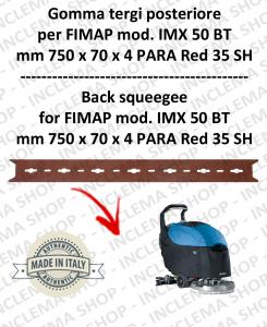 Bavette arrière pour autolaveuses FIMAP mod. IMX 50 BT