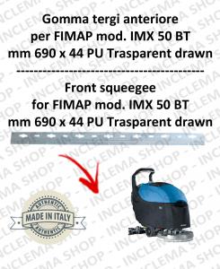 Bavette avant pour autolaveuses FIMAP mod. IMX 50 BT