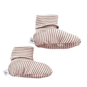 Scarpette babbucce estive neonato Bamboom Rigato Bianco/Rosa