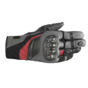 GUANTI MOTO ALPINESTARS BELIZE DRYSTAR BLACK ANTHRACITE RED COD. 3526718