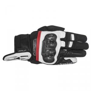 GUANTI MOTO ALPINESTARS RAGE DRYSTAR BLACK WHITE RED COD. 3526817
