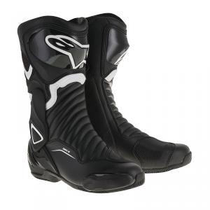 STIVALI MOTO RACING ALPINESTARS SMX-6 V2 BLACK WHITE COD 2223017