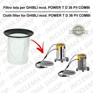 POWER T D 36 P/I COMBI Filtre Toile pour aspirateur GHIBLI