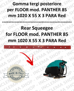 PANTHER 85 Back Squeegee Rubber for Scrubber Dryer FLOOR