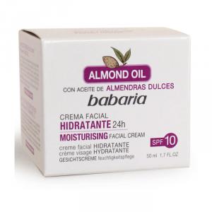 Babaria Almond Oil Crema Hidratante Spf 10 50ml